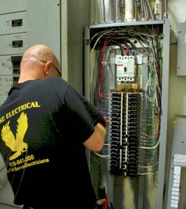 Hawke Electrical providing panel upgrade and electrical services Philadelphia
