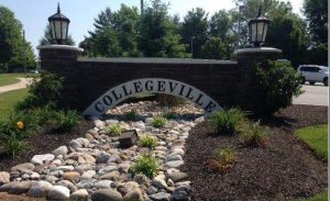 Collegeville sign; indoor and outdoor electricians